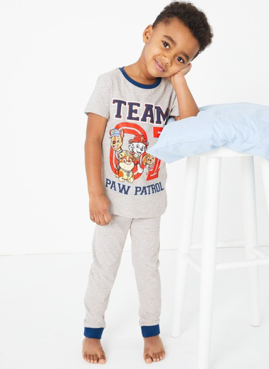 Marks & Spencer Paw Patrol Pijama Takımı Gri